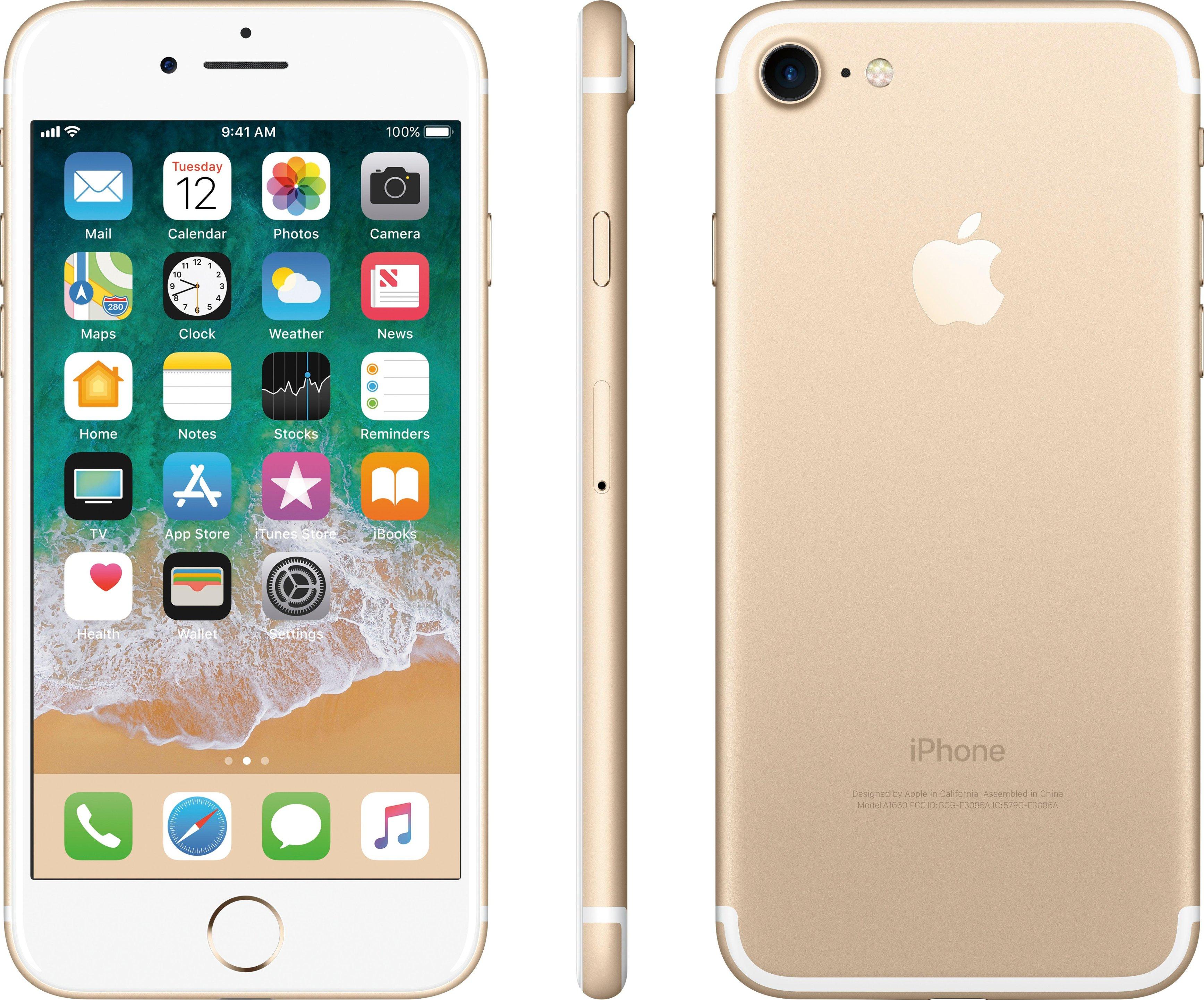 Verizon Wireless MN8J2LL/A Apple iPhone 7 32GB Gold ()