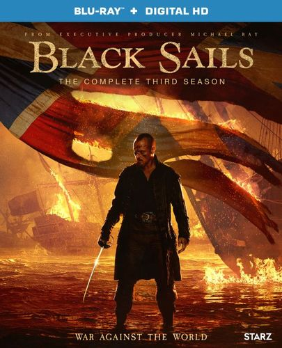 Black Sails: Season 3 [Includes Digital Copy] [UltraViolet] [Blu-ray] [3 Discs] 5581803