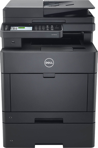 Dell - Color Smart H625CDW Wireless Color All-In-One Printer - Black 5583700