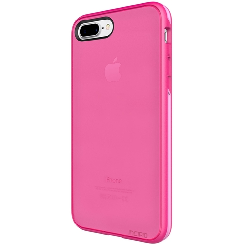 iphone 7 plus case, incipit performance series slim protection [shock absorbing] cover fits apple iphone 7 plus - berry pink/rose