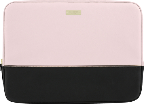 Kate spade new york - Laptop Sleeve - Black/Gold/Rose quartz