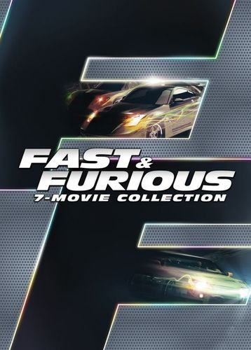 Fast and Furious 7-Movie Collection [8 Discs] [DVD] 5588098