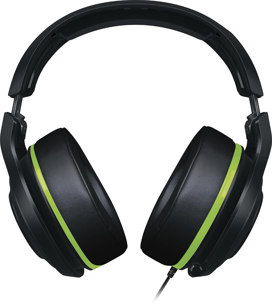 Razer ManO'War Wired 7.1 Virtual Surround Sound Gaming Headset for Mac, PlayStation 4, Windows and Xbox One Black/Green RZ04-01920300-R3U1