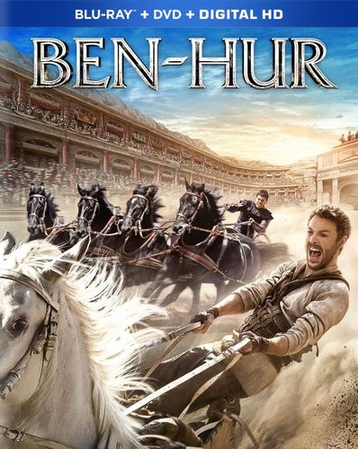 Ben-Hur [Includes Digital Copy] [Blu-ray/DVD] [2016]