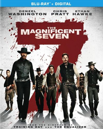 The Magnificent Seven [Includes Digital Copy] [Blu-ray] [2016] 5591824