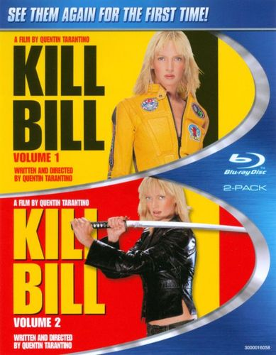 Kill Bill Vol. 1/Kill Bill Vol. 2 [2 Discs] [Blu-ray] 5594634