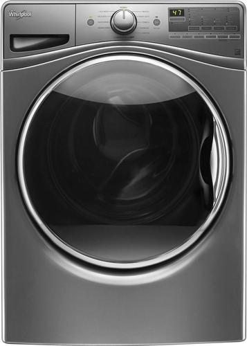 Whirlpool - 4.5 Cu. Ft. 11-Cycle Front-Loading Washer - Chrome Shadow 5596304
