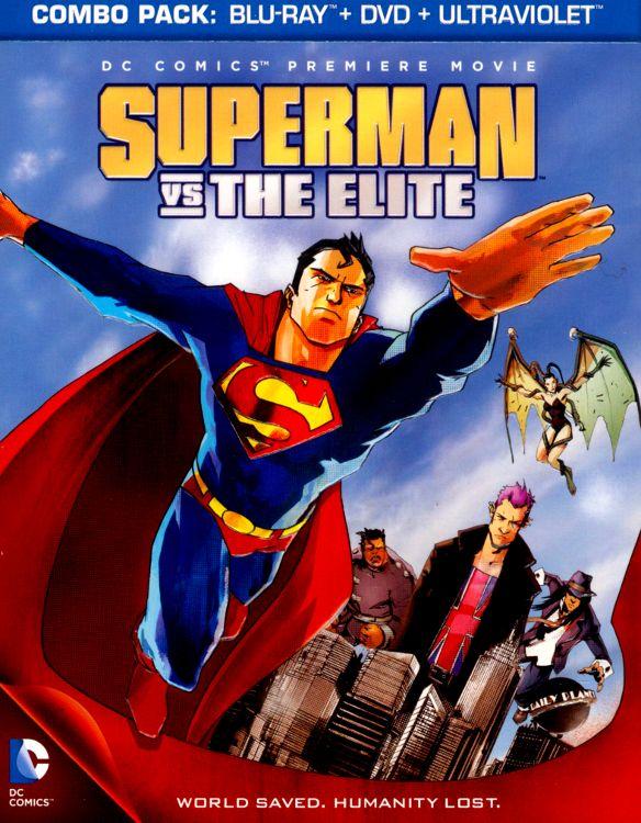 Superman vs. The Elite [2 Discs] [Includes Digital Copy] [UltraViolet] [Blu-ray/DVD] [2012] 5606136
