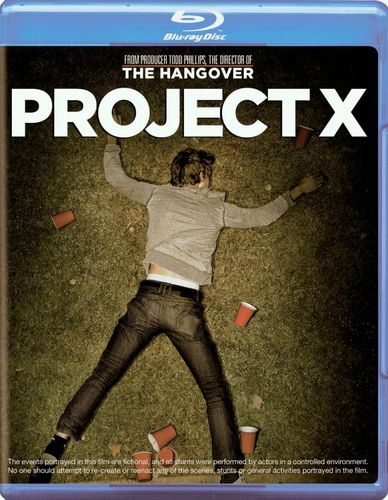 Project X [2 Discs] [Includes Digital Copy] [UltraViolet] [Blu-ray/DVD] [2012] 5606385