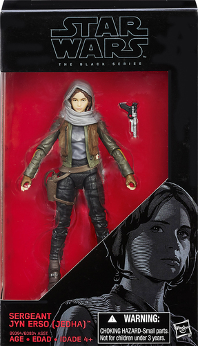 Hasbro - Star Wars: Rogue One The Black Series Sergeant Jyn Erso Figure 5607526
