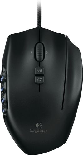 Logitech - G600 MMO Gaming Mouse - Black