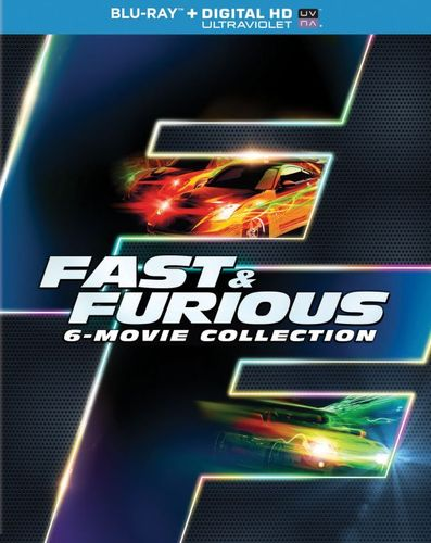 Fast & Furious: 6-Movie Collection [Includes Digital Copy] [UltraViolet] [Blu-ray] 5610203