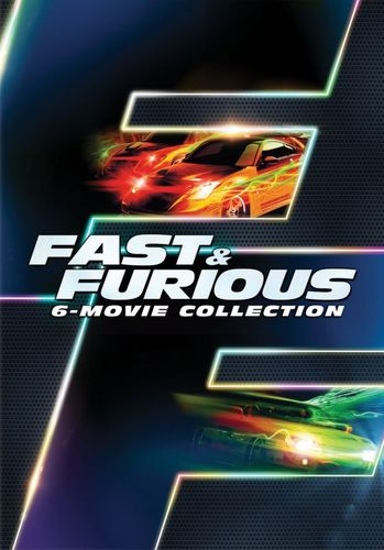 Fast & Furious: 6-Movie Collection [6 Discs] [DVD] 5610267