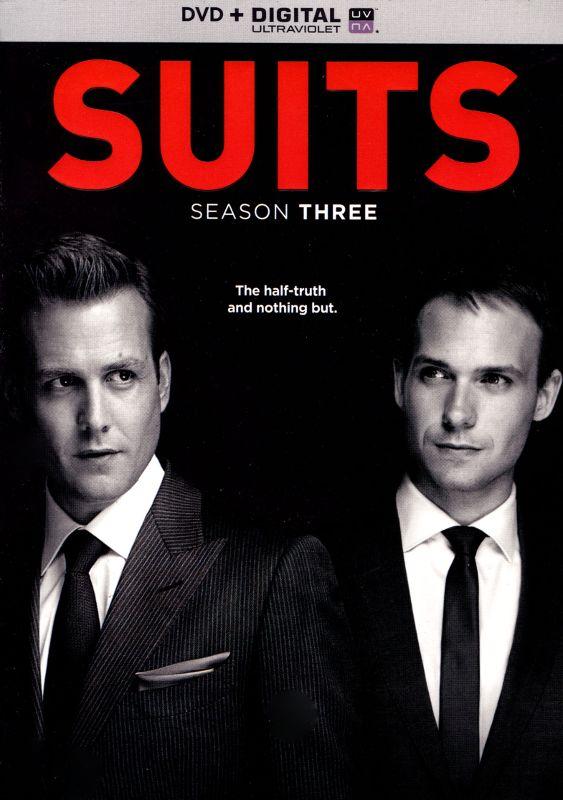 Suits: Season Three [4 Discs] [Includes Digital Copy] [UltraViolet] [DVD] 5610276
