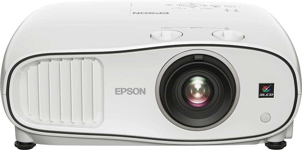 Epson Home Cinema 3700 1080p 3LCD Projector Gray/White V11H799020