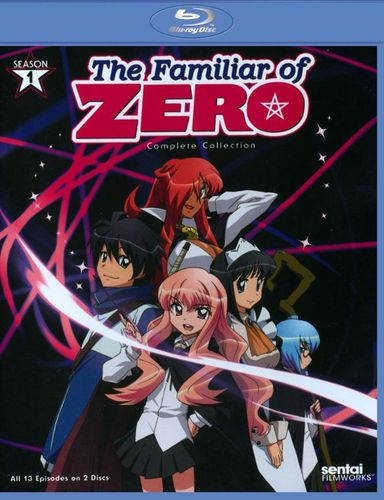 The Familiar of Zero: Season 1 [2 Discs] [Blu-ray] 5613017