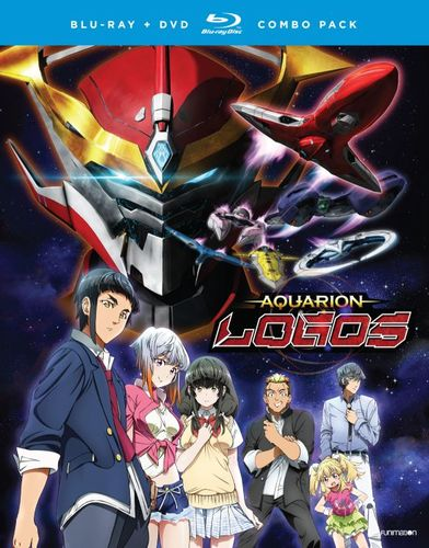 Aquarion Logos: Season Three - Part One [Blu-ray] [4 Discs] 5614805