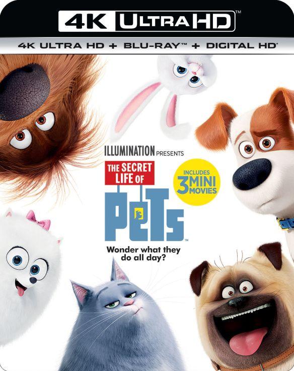 The Secret Life of Pets [Includes Digital Copy] [4K Ultra HD Blu-ray/Blu-ray] [2016] 5615602