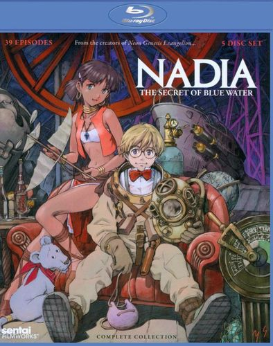 Nadia: The Secret of Blue Water - Complete Collection [5 Discs] [Blu-ray] 5616005