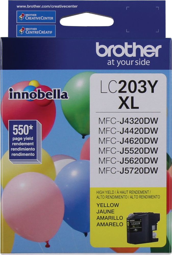 Brother LC203Y largeFrontImage