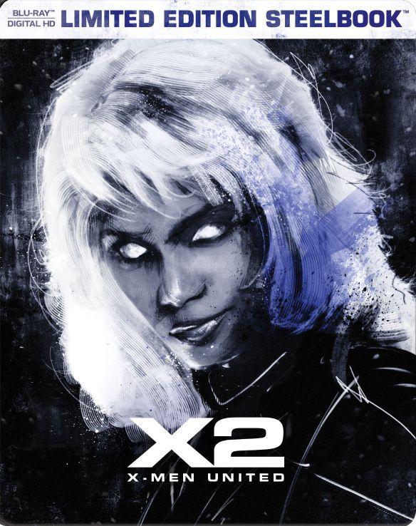 X2: X-Men United [Includes Digital Copy] [Blu-ray] [SteelBook] [2003] 5617610