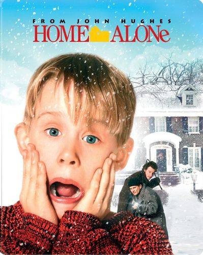 Home Alone [Limited Edition] [Blu-ray] [SteelBook] [Only @ Best Buy] [1990] 5617614