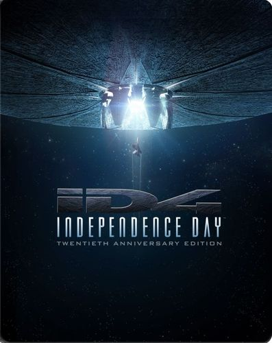 Independence Day [20th Anniversary Edition] [Blu-ray] [SteelBook] [1996] 5617615