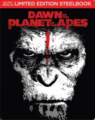 Dawn of the Planet of the Apes [Includes Digital Copy] [Blu-ray] [SteelBook] [2014] 5617616