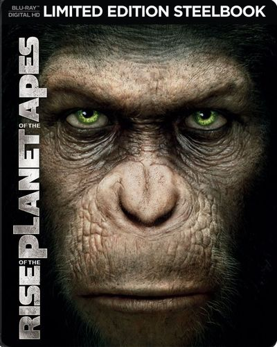 Rise of the Planet of the Apes [Includes Digital Copy] [Blu-ray] [SteelBook] [2011] 5617620