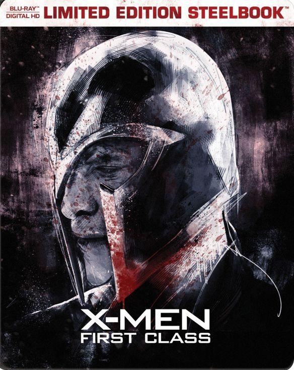 X-Men: First Class [Includes Digital Copy] [Blu-ray] [SteelBook] [2011] 5617621