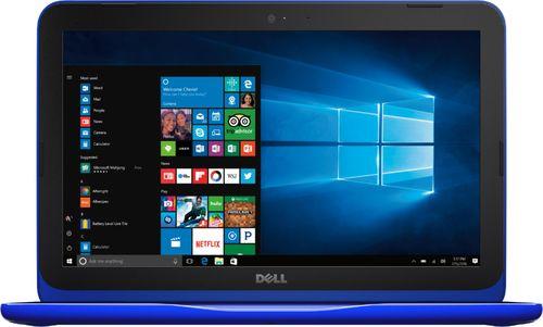 "Dell - Inspiron 11.6"" Laptop - Intel Celeron - 4GB Memory - 32GB eMMC Flash Memory - Bali blue"