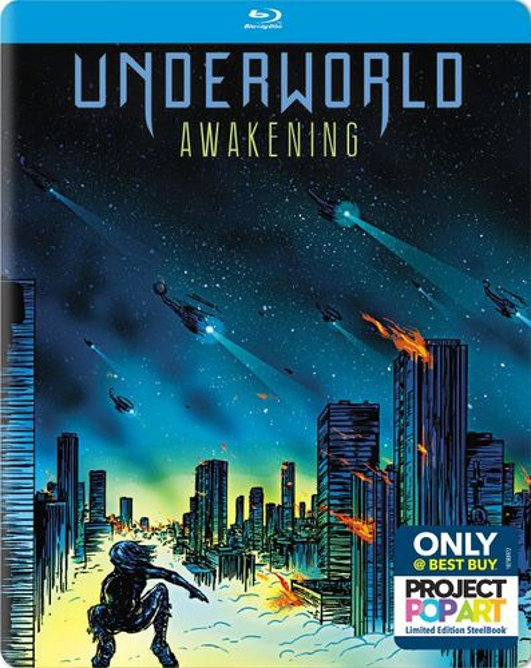 Underworld: Awakening [Blu-ray] [SteelBook] [2012] 5619309