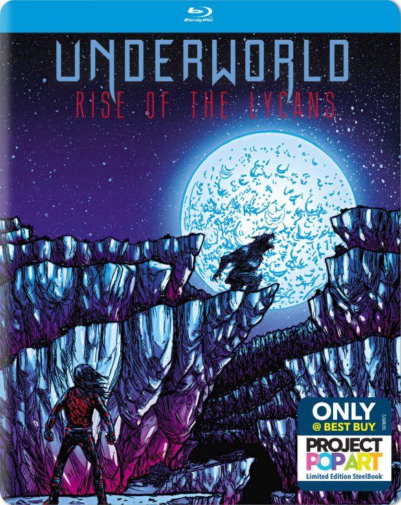 Underworld: Rise of the Lycans [Blu-ray] [SteelBook] [2009] 5619311