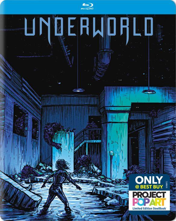 Underworld [Unrated] [Blu-ray] [SteelBook] [2003] 5619313