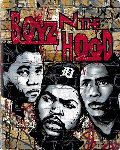 Boyz 'N the Hood [Blu-ray] [SteelBook] [1991] 5619321