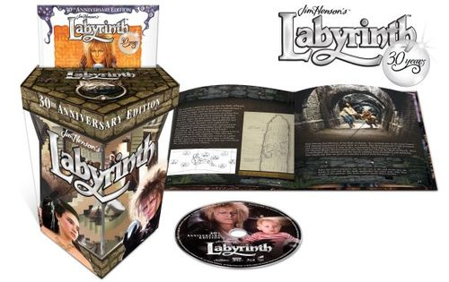 Labyrinth [Anniversary Edition] [Gift Set] [Blu-ray] [1986] 5619323