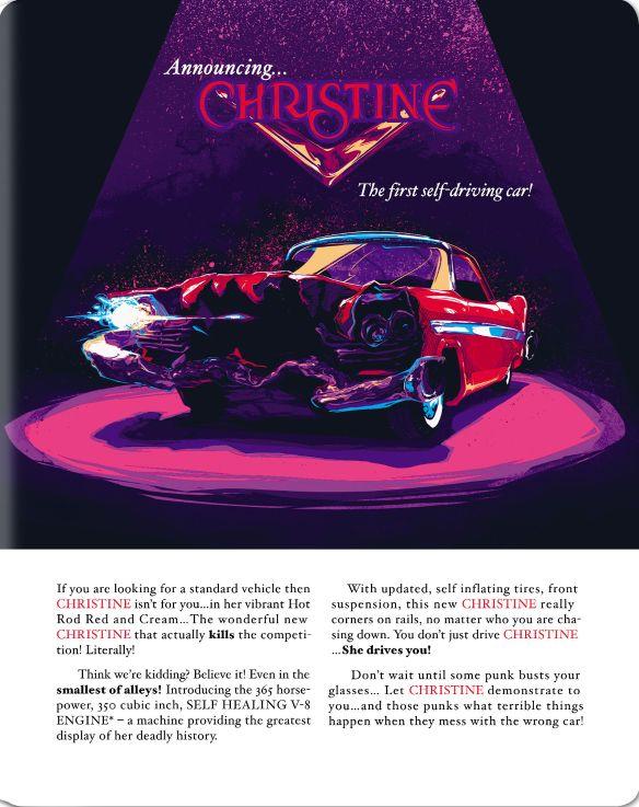 Christine [Blu-ray] [SteelBook] [1983] 5619324