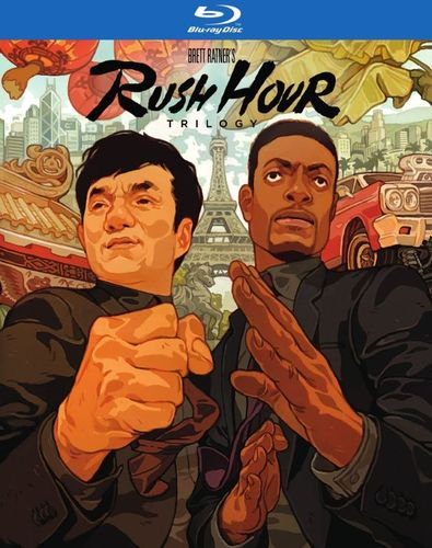 Rush Hour Trilogy [Blu-ray] [4 Discs] 5619508