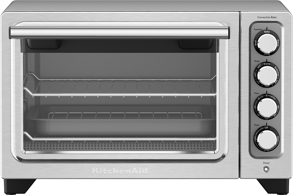KitchenAid KCO253CU Convection Toaster/Pizza Oven Contour silver
