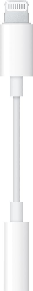 Apple - Lightning-to-3.5mm Headphone Adapter - White