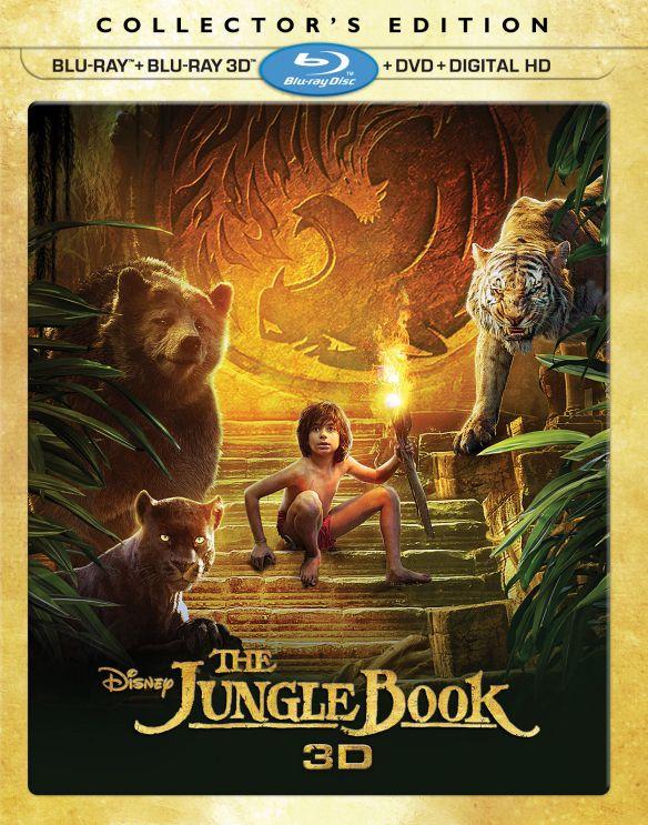The Jungle Book [3D] [Blu-ray/DVD] [Blu-ray/Blu-ray 3D/DVD] [2016] 5622471