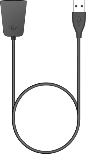 Fitbit - USB Type A Charging Cable - Black