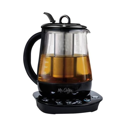 Mr. Coffee - 5- Cup 1.2L Electric Tea Maker/Kettle - Black 5622713