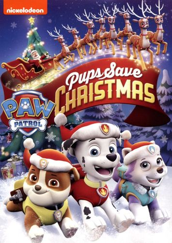 PAW Patrol: Pups Save Christmas [DVD] 5622721