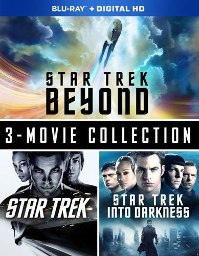 Star Trek Beyond: Three-Movie Collection [Includes Digital Copy] [Blu-ray] 5622722