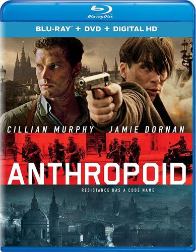 Anthropoid [Includes Digital Copy] [UltraViolet] [Blu-ray/DVD] [2 Discs] [2016] 5622732