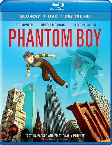 Phantom Boy [Includes Digital Copy] [UltraViolet] [Blu-ray/DVD] [2 Discs] [2015] 5622733