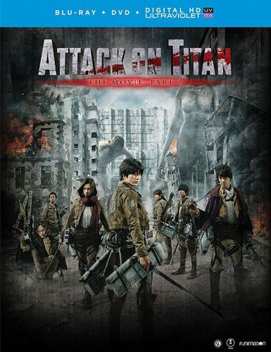 Attack on Titan: The Movie - Part 2 [Blu-ray] [2015] 5623214