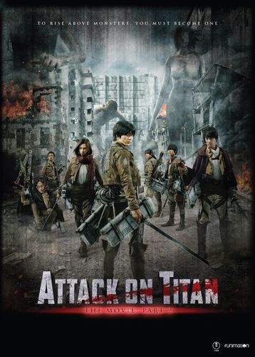 Attack on Titan: The Movie - Part 2 [DVD] [2015] 5623215