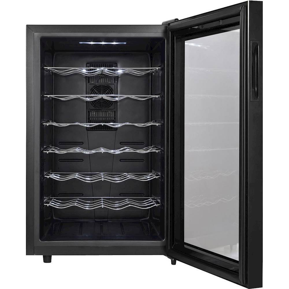 Magic Chef 28-Bottle Wine Cooler Black MCWC28B